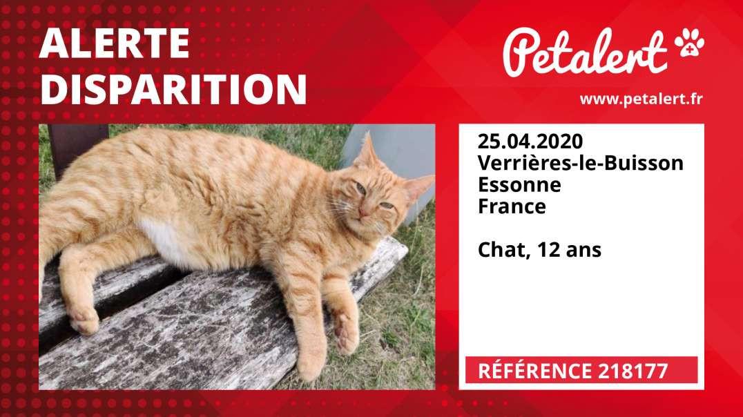 Alerte Disparition #218177 Verrières-le-Buisson / Essonne / France