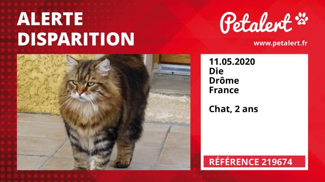 Alerte Disparition #219674 Die / Drôme / France