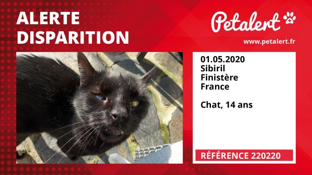Alerte Disparition #220220 Sibiril / Finistère / France