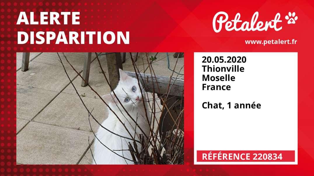 Alerte Disparition #220834 Thionville / Moselle / France
