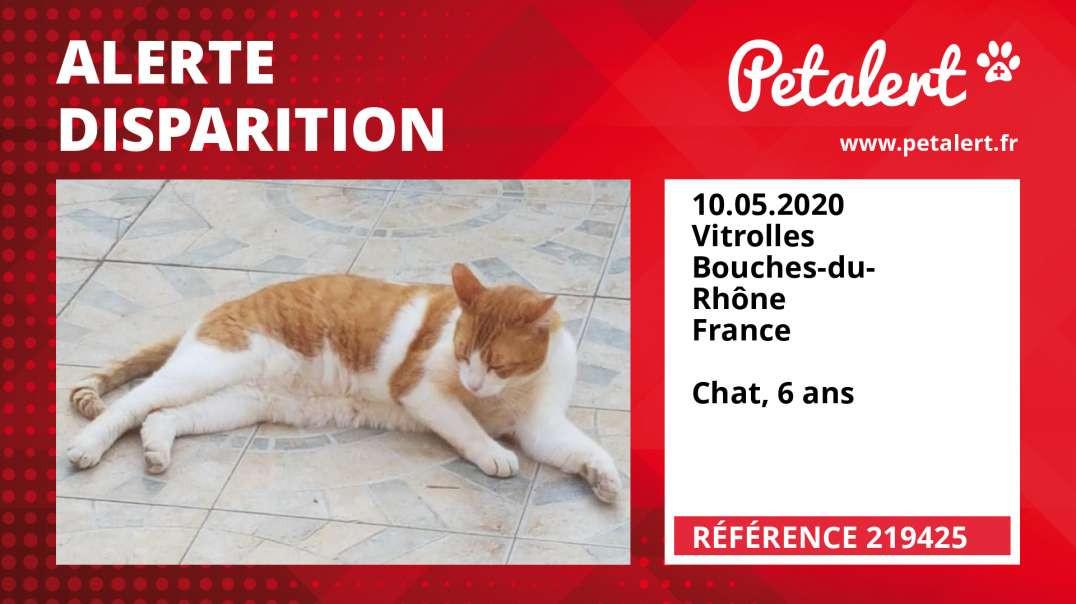 Alerte Disparition #219425 Vitrolles / Bouches-du-Rhône / France