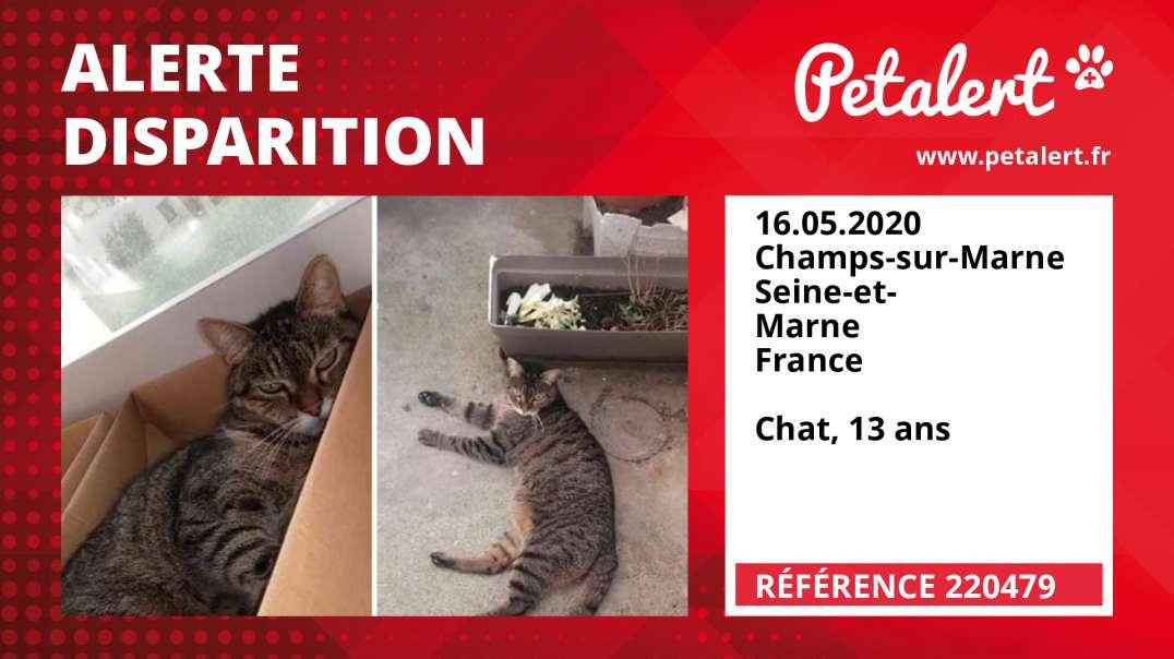 Alerte Disparition #220479 Champs-sur-Marne / Seine-et-Marne / France