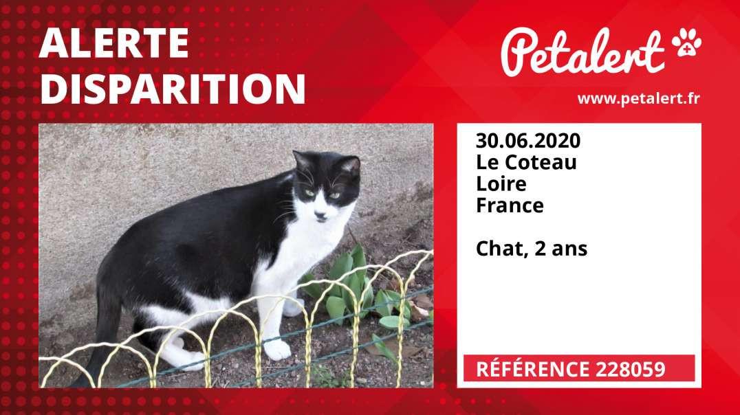 Alerte Disparition #228059 Le Coteau / Loire / France