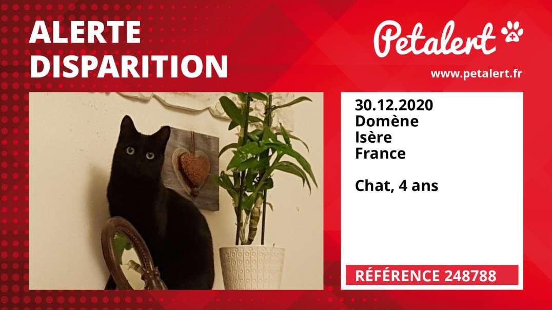 Alerte Disparition #248788 Domène / Isère / France